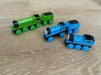 Wooden Thomas trains - Henry, edward and Thomas