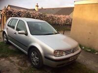VW GOLF 1.6L 2002 mk4 70k 4 door