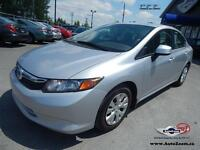 2012 Honda Civic Sdn LX *WoW WoW*