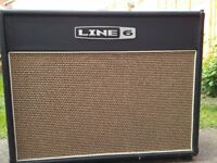 Line 6 Flextone III 75 watt combo amp with on-board effects & FBV Shortboard foot controller