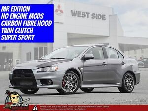 2014 Mitsubishi Lancer Evolution MR–One Owner–Super AWC–Turbocha