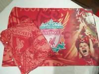 Liverpool FC 2005 champions league bedsheets
