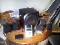 Logitech Z5500 Digital PC Multimedia Home Theatre Speaker System 505 Watt PC Laptop TV Games console