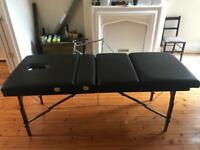 Sky dancer portable massage/therapy table
