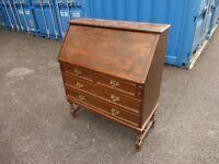 Antique Oak Bureau,can deliver