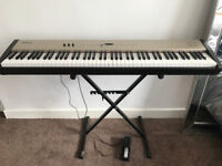 Roland FP5. Stage, Portable Piano/ Key Board. Stand included.