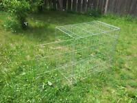 CAGES FOR DOG AND BIRDS