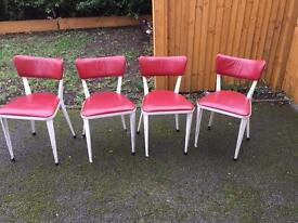 Ten Ernest Race Ba3 side chairs