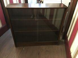 Older dark wood bookcase