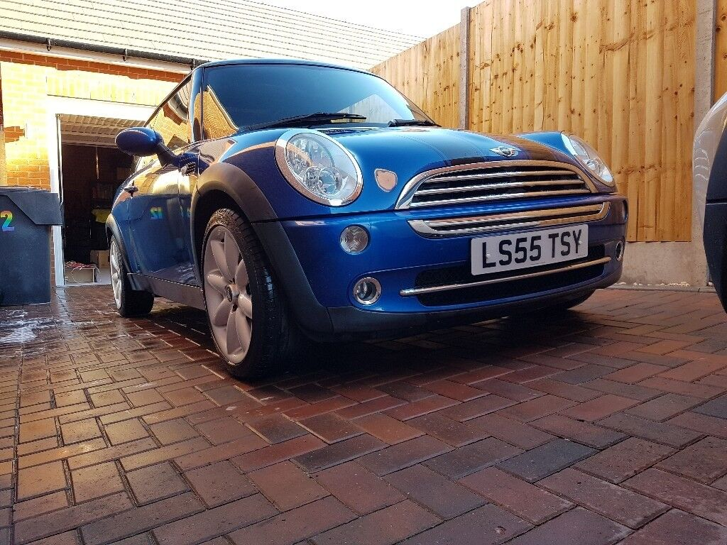 Mini one 55 plate low milage