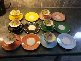 Fine Bone China Set From 1940's in Mint Condition