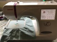 Memory Craft 350 e Embroidery machine