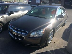 2011 CHEVROLET MALIBU LT- LEATHER INTERIOR, CRUISE CONTROL, ONST