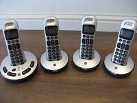 BT Freelance XT3500 Quad Phones