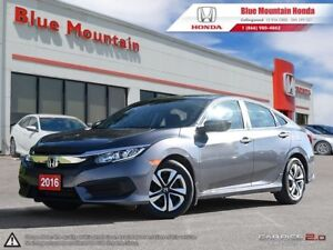 2016 Honda Civic LX Sedan Risk Free Certified