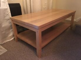 Light wood Coffee table ,REDUCED