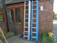 aluminium triple ladder