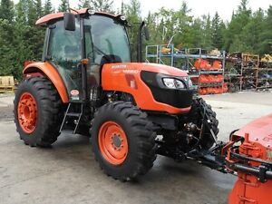 2012 kubota M9960HDCC Tractor and Snow Blade Package