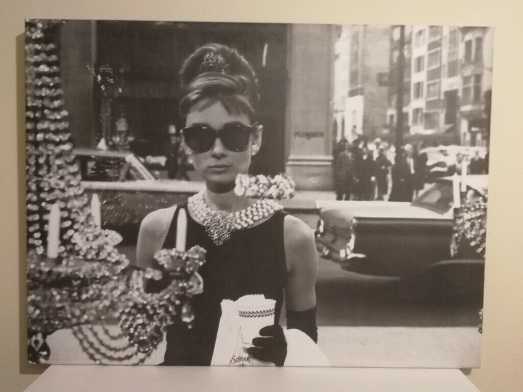 9a21bf984adb Breakfast at Tiffany's - canvas picture | in Woodford, London | Gumtree
