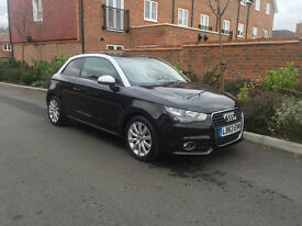 2014 63 - PLATE AUDI A1 1.6 TDI SPORT 3 DR IN BLACK GENUINE 20K WITH HISTORY