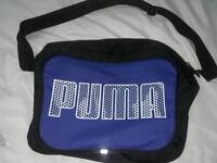 Puma and adidas cross over messenger type bags, good clean condition £5 each bag