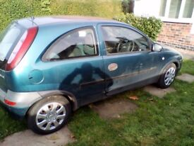 2000 corsa 1.2 mot april next year only done 85k