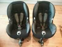 2 Maxi Cosi Priori car seats 9-18kg