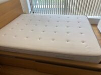 King size mattress (IKEA Hesseng) - barely used