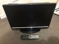 """TECHWOOD 19"""" LCD TV WITH DVD COMBO, DIGITAL REMOTE, HDMI"""