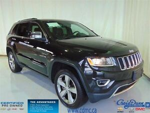 2015 Jeep Grand Cherokee Limited * LOW KMS * Heated Leather *