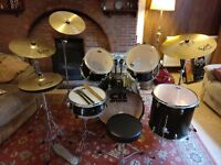 CB Drum Kit with Sabian Solar Cymbals
