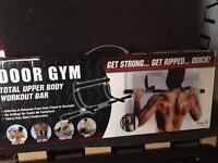 Door Gym Upper body workout bar (new)