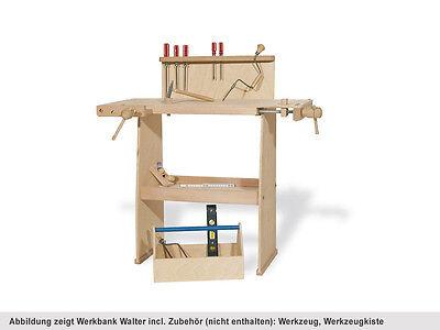 """Holz Spielzeug Werkbank Kinder Holzwerkbank Kinderwerkbank Werkzeugbank """"Walter"""""""