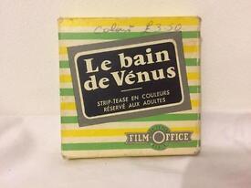 """Rare vintage 8mm """"Erotica"""", Le Bain de Venus."""