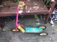Manchester United child's scooter