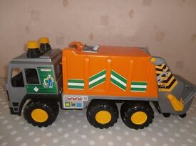 Working bin lorry with bin - great Christmas present