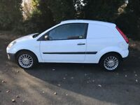 Ford Fiesta Van Direct From Council Low Miles No VAT