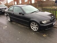 2004 BMW 318 CI (COUPE) 2.0 PETROL BREAKING ALL PARTS