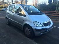 MERCEDES A160 2005 5 DOOR 1.6 70k LONG MOT VERY CLEAN INSIDE AND OUT