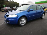 RENAULT MEGANE 1.6 AUTOMATIC IN VERY CLEAN CONDITION. 1 YEAR MOT. SERVICE HISTORY. 2 PREVIOUS OWNERS
