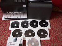 MAC APPLE COMPUTER SOFTWARE DAW MUSIC PRODUCTION,LOGIC PRO 8 ,SOUNDTRACK PRO 2,+ OPTIONAL UPGRADE