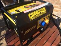 Champion CPG3500 196cc petrol generator. As new.