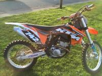 2013 ktm 250sxf electric start mint cons only 30hrs use
