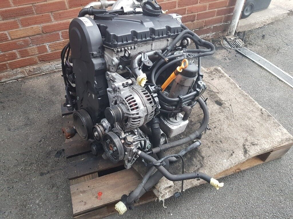 For Sale Complete Audi A4 B6 19tdi Pd130 Avf Engine In Crewe