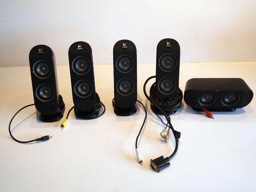 Logitech X 530 51 Surround Sound Speaker System for  : 86 from www.gumtree.com size 1024 x 768 jpeg 67kB