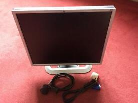HP flat screen monitor 19 inch
