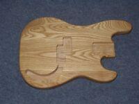 Precision Bass Body - Natural Finish