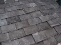 Salvaged reclaimed Welsh Victorian slate roof tiles approx 800 house shed garage roof porch etc