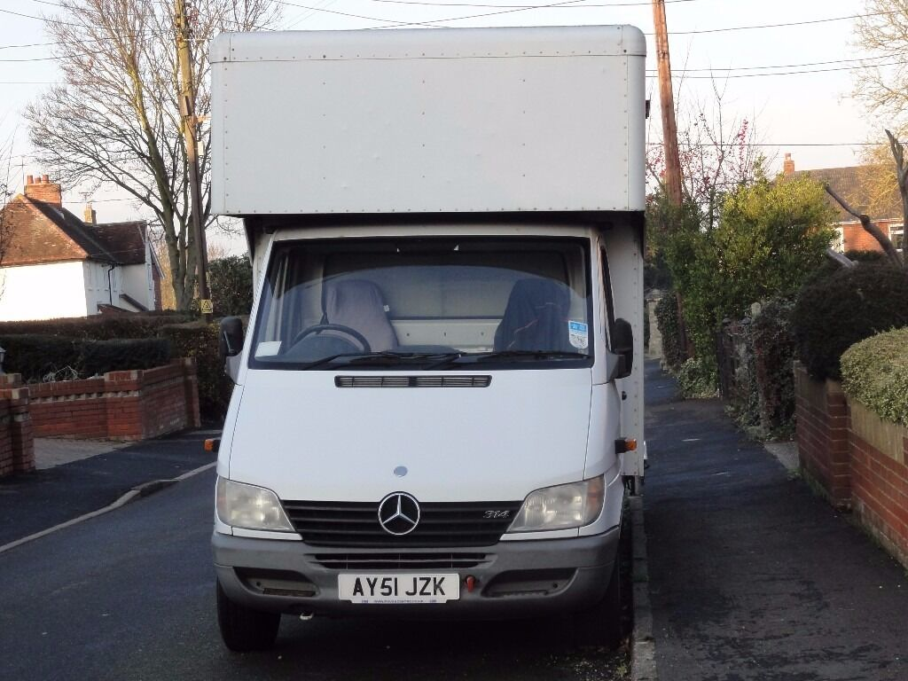 mercedes luton 3 5 tonne van lpg petrol in earls colne. Black Bedroom Furniture Sets. Home Design Ideas