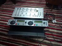 KAM CD Decks & Mixer KCD990 Audio Pro 1000 Disco Set Up Working Tested